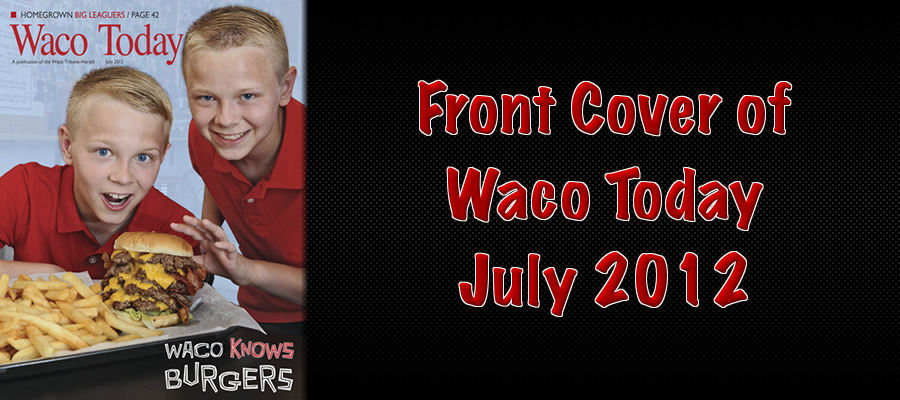 Front Cover of Waco Today July 2012
